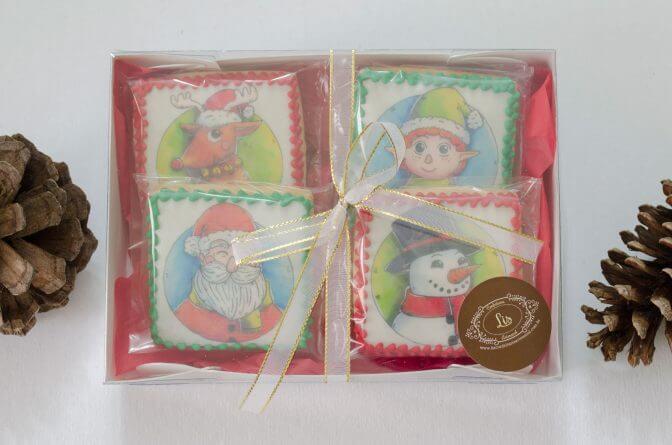 Biscoitos Decorados Kit 4unid Biscoitos Decorados – Kit Natal | biscoitos decorados -  kitnoel 672x445