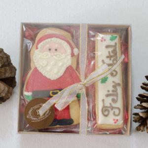 Biscoitos Decorados Papai Noel